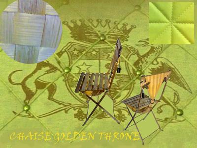 Inspiration Golden Throne